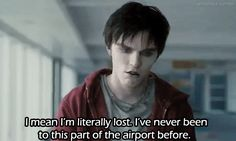 Nicholas Hoult & this scene from Warm Bodies!