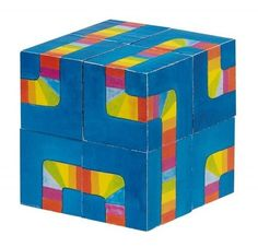 Παζλ κύβος/ Cube puzzle, colour labyrinth