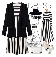 Dress ... by carlina-tof on Polyvore featuring polyvore, fashion, style, Valentino, Giuseppe Zanotti and Zimmermann