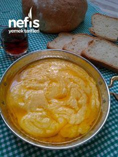 Kuymak (Mıhlama Muhlama) - Nefis Yemek Tarifleri - #8094560 Cooking Time, Peanut Butter, Pudding, Pasta, Desserts, Recipes, Food, Tailgate Desserts, Deserts