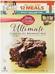 Betty Crocker Brownie Mix Chocolate 80 Ounce * You can find more details by visiting the image link.
