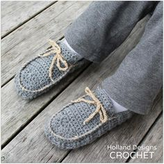 Download Now  CROCHET PATTERN Awesome Moccasins  von hollanddesigns