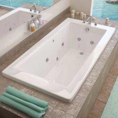 Access Tubs Venetian Dual System Bathtub, Whirlpool & Air Massage Therapy - Exterior Dimensions: (L) x (W) x (H) Air & Jacuzzi Bathtub, Bathtub Drain, Jetted Tub, Bathtub Faucets, Jacuzzi Tub Decor, Bathtub Shelf, Wooden Bathtub, Walk In Bathtub, Spa Tub