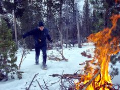 Winter Fire Making Skills - Why Don't We Use Them. | Outdoor Quest