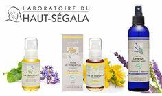 Aguas florales y aceites puros vegetales de Laboratoire du Haut-Segala.