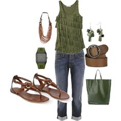 army green/brown