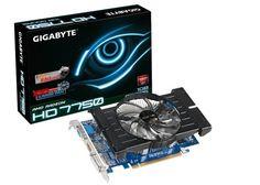Gigabyte Gv-R775Oc-1Gi Graphics Card Radeon Hd 7750 1Gb Hdmi Dvi-D Vga by Gigabyte. $168.61. Gigabyte RADEON HD 7750 OC 1GB PCIE 30 1GB GDDR5 880MHZ VGA DVI HDMI IN GVR775OC1GI Components Video Graphics Cards