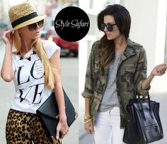 Style Inspiration, Safari Style, Outfits, What to Wear - on the Kate Couture Blog // www.couturecoaching.com