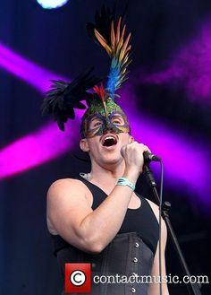 Australian singer Sam Sparro Lovebox festival at Victoria