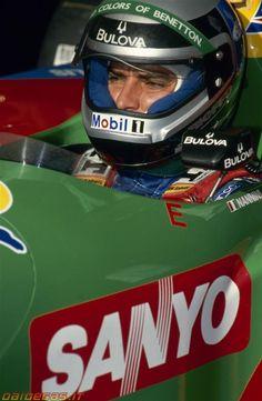 Le Mans, Formula 1, Grand Prix, Gerhard Berger, F1 Racing, F 1, Vintage Racing, Sport, Benetton