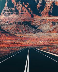 Arizona Roads | Photography by  @neohumanity. #OurPlanetDaily by ourplanetdaily