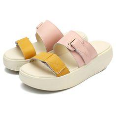 Shoes Women Summer Casual Flats Comfortable Beach Outdoor Platform Sandals Shoe - US$22.41