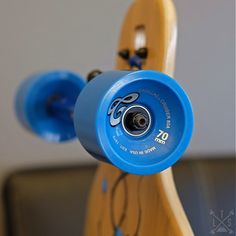"""The Madrid 39"""" Bones Bamboo Drop Through is designed for carving, cruising, and freestyle."""