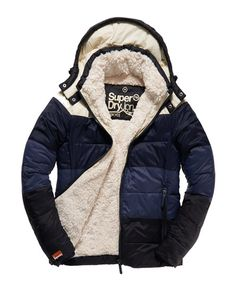 Superdry California Sherpa jack - Looks nice 'n warm - Want it. Winter is coming!