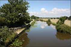 Chichester Canal, West Sussex.