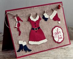This is too cute!!  Stampin' Up!