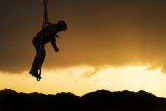 """This Marine's just """"hangin' out"""" (U.S. Marine Corps photo by Lance Cpl. Matthew Bragg/Released)"""