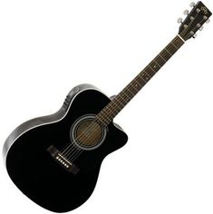 New electro acoustic guitar SX in Black Gloss mit 4 Band EQ und Tuner Electro Acoustic Guitar, Band, Guitars, Musical Instruments, Bands, Orchestra