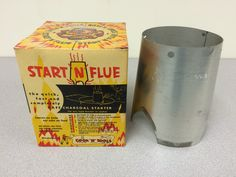 """The first Cook-N-Kettle fire starter.  This is a Cook n Kettle's collecters item and when they're sold out the company says, """"we have no more! Buy some history!"""""""