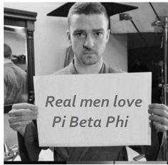 REAL men love Pi Beta Phi!
