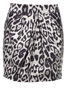 Animalprint Rock in schwarz/weiß von Vero Moda @Zalando International