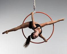 Female Aerial Hoop for Scott Eaton's Bodies in Motion project