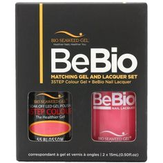 Bio Seaweed Gel Color + Matching Lacquer Blossom #55