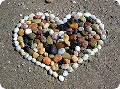 Small Stones Heart