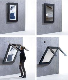 Mesa plegable para espacios pequeños