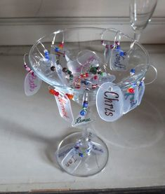 Make your own customized Shrinky Dink Beer & Wine Charms from Discarded Plastic