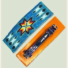 $4.75--Beaded Barrette, 1-1/2