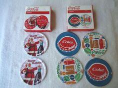 """Coca Cola Coasters """" NIB """""""