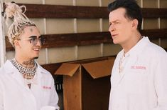 Charlie Sheen turns the tables in clip for Lil Pump single 'Drug Addict'