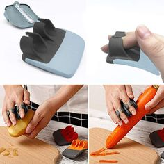 Cloudro Kitchen Utensils Vegetable Peeler, Double Cutter Fruit Peeler Good Handles for Peeling Potato and Carrot Cucumbers - Best original products Peeling Potatoes, Gadgets, Kitchen Utensils, Can Opener, Plastic Cutting Board, Carrots, Fruit, The Originals, Knives
