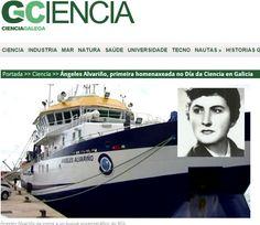 A oceanógrafa ferrolá Ángeles Alvariño será a primeira homenaxeada no Día da Ciencia en Galicia, o 1 de xuño. A celebración promovida pola Real Academia Galega de Ciencias (RAGC) vén substituír o Día do Científico Galego para darlle un carácter máis aberto e unha maior dimensión á conmemoración.