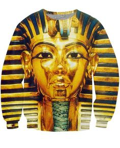 Walk like an Egyptian and dresslike a king with our all-over-print Pharaoh…