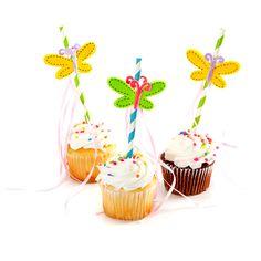 Darice Felties Butterfly Straws #DIY #craft #party #celebration #birthday