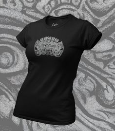 This Barong t shirt was designed by me, printed on premium ethicaly manufactured cotton - soft as you like! Click on the pin for more details, you'll look great in this! Barong, Organic Cotton T Shirts, Looks Great, Women Wear, Printed, Tees, Mens Tops, How To Wear, Design