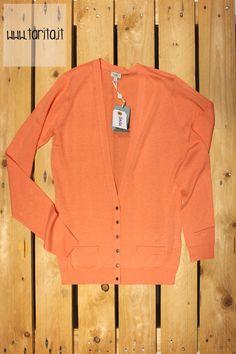 Tarita S/S 2013.   Hoss Intropia, coral cotton sweater.
