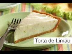 Torta de limão -  Muito fácil