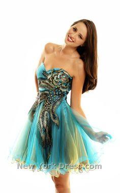 #peacock   blue dresses #2dayslook #new #dresses #nice  www.2dayslook.com