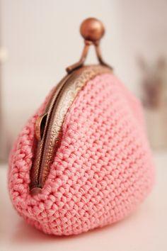 Monedero color rosa / missmalagata - Artesanio