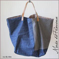 maxi sac cabas en patchwork jeans 2                                                                                                                                                      Plus