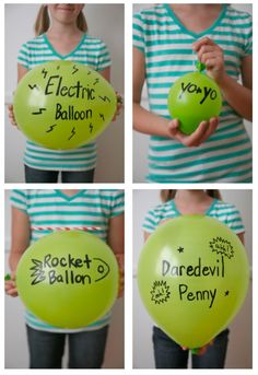 Awesome! THIS is a classic: Four Easy Ways to Turn a Balloon into a Toy via Classic Play.