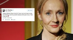 J.K. Rowling shares heartwarming message for anyone who's lost their mum http://ift.tt/1YmhCTE  LONDON  J.K. Rowling may have built up a reputation for being fairly formidable on Twitter but shes also proved time and time again that she has a soft side.  See also: J.K. Rowling responds to fans cry for help in the most heartwarming way  The Harry Potter author re-enforced this on Mothers Day when she sent out a special message to anyone whose mum isnt around anymore.  It wasnt long before…