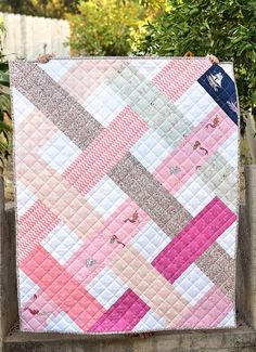 Earlier this week I was putting away some fabric and noticed a stack of Out to Sea that has been sitting in my stash for a while.  After I made this quilt, I fell in love with the collection and bough