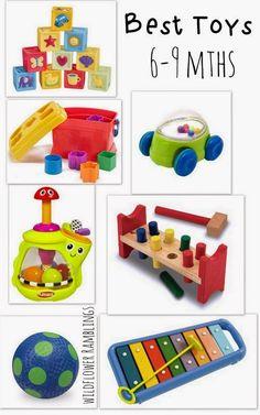 عالم مُـنـتـِسورى - Montessori World: الألعاب المناسبة للطفل سن 3 - 12 شهر