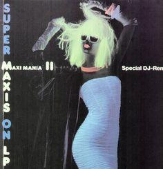 Various - Super Maxis On Lp - Maxi-Mania II GER 1986 LP Vinyl DJ-Remix