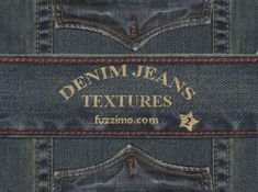 Free great denim textures at www.fuzzimo.com.  I have so many ideas for digital scrapbook/journal layouts just from the great free textures and images available there.