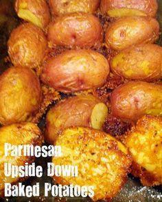 Parmesan Upside Down Baked Potatoes ~ best recipes